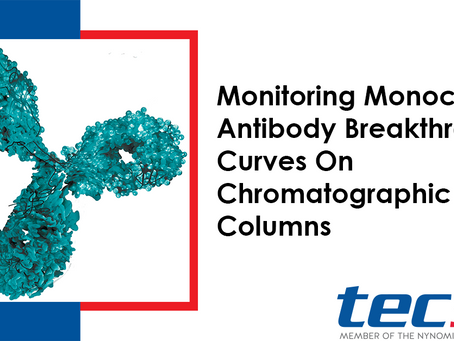 Monitoring Monoclonal Antibody Breakthrough Curves On Chromatographic Columns