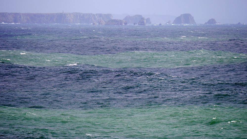 Meeresfarben Bretagne