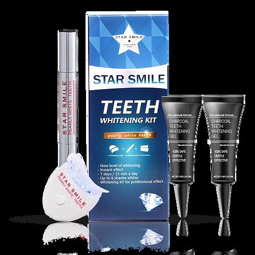 Комбиниран Комплект за избелване STAR SMILE с  гел с активен въглен