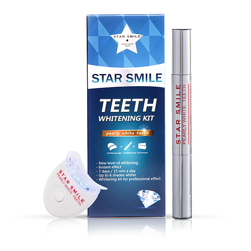 Комплект STAR SMILE с 6LED light - 2 части