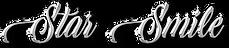 Logo texts star smile
