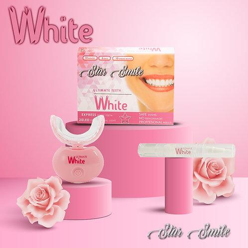 Ultimate White 20LED light STAR SMILE