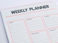GMUND weekly planner