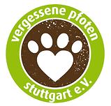 Vergessene Pfoten Stuttgar e.V. Logo