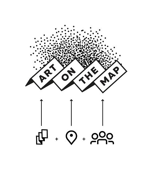 Création réalisation logo pictogramme application mobile culture art street art par studio makémaké