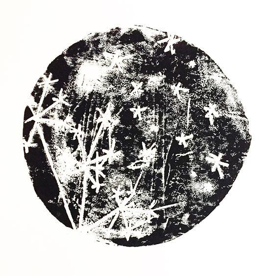conception création illustration de linogravure