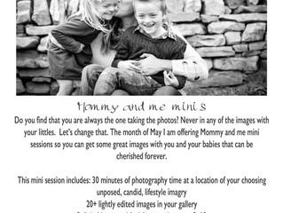 Mommy & Me Mini's!