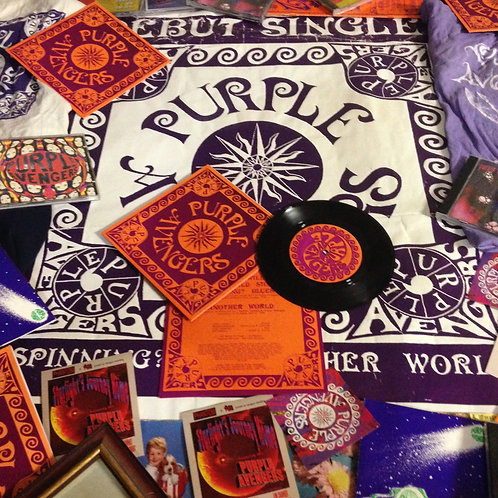 """When Will the World Stop Spinning?Blues (7"""" vinyl)"""