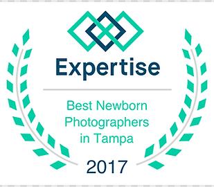 Voted Tampa's Best newborn Photographer