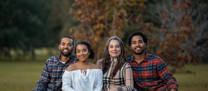Fall family photo session in Brandon Florida
