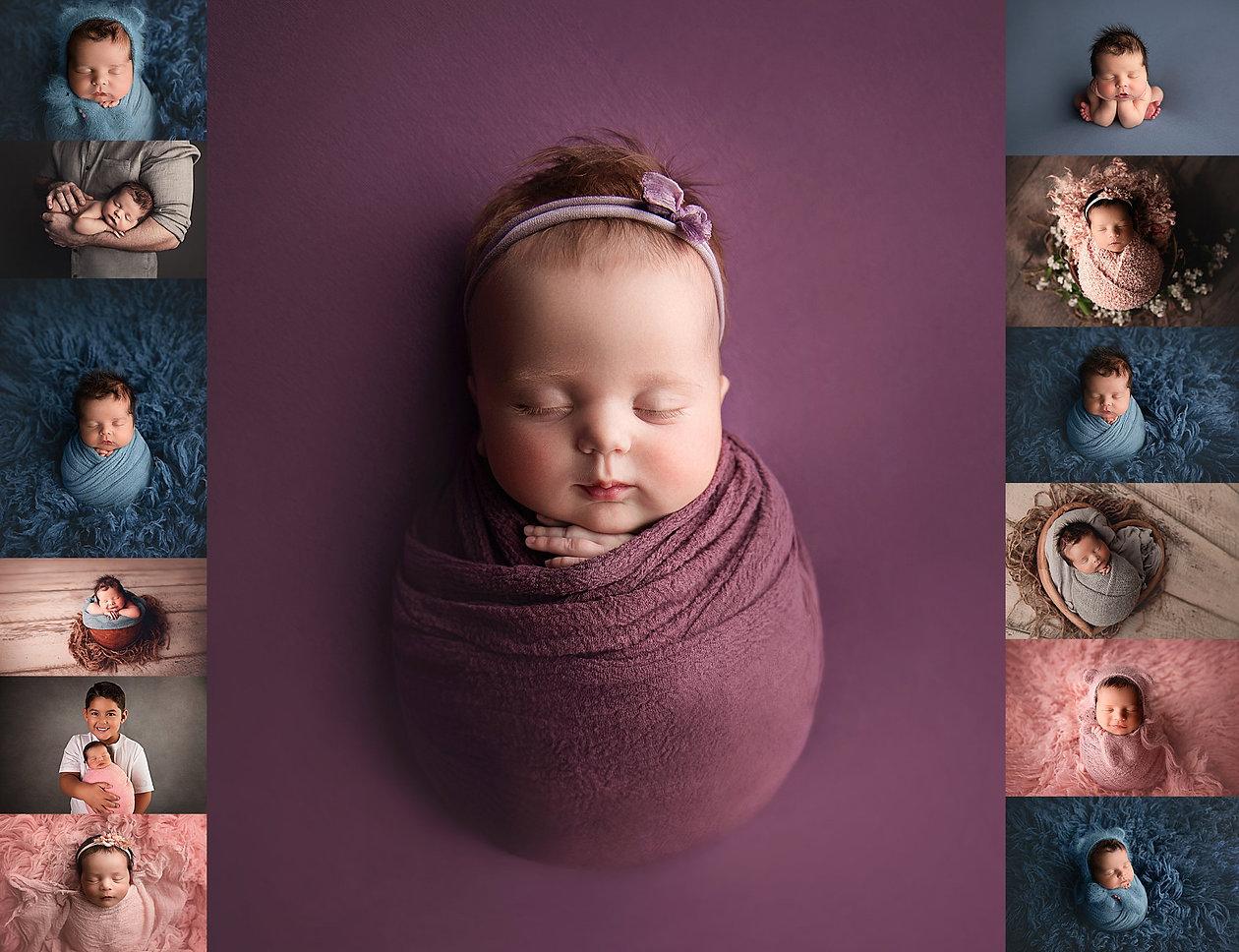 Timeless tampa newborn baby photos