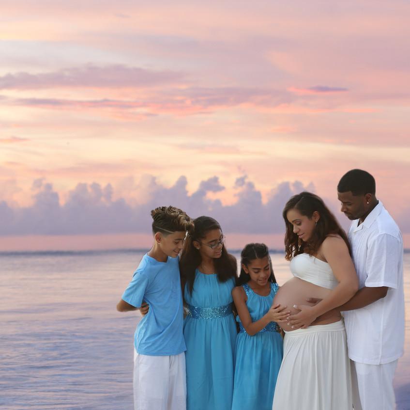 Beach Maternity session Tampa Fl