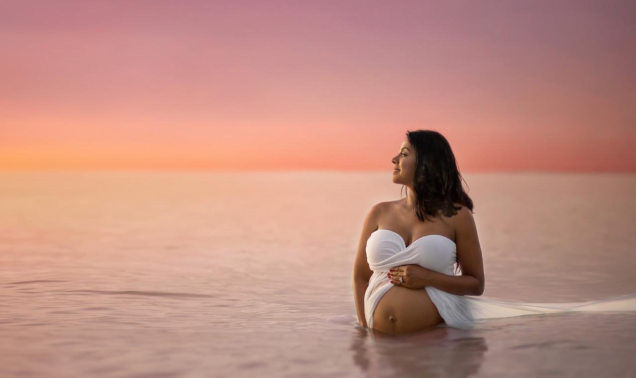 Tampa Maternity Photographer Beach