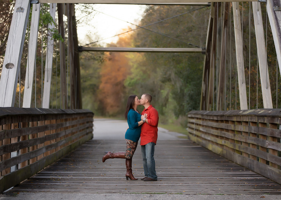 The Brown Family-Tampa Family Photographer- Covered Bridge- Family portraits