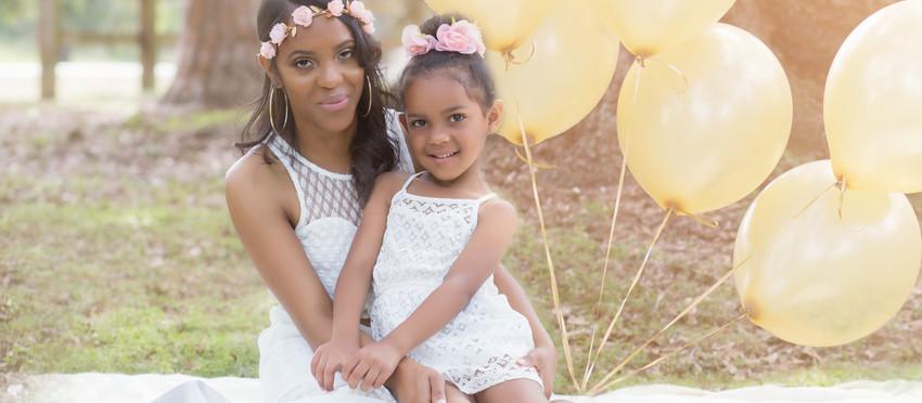 Melinda's Mommy & Me photo session!