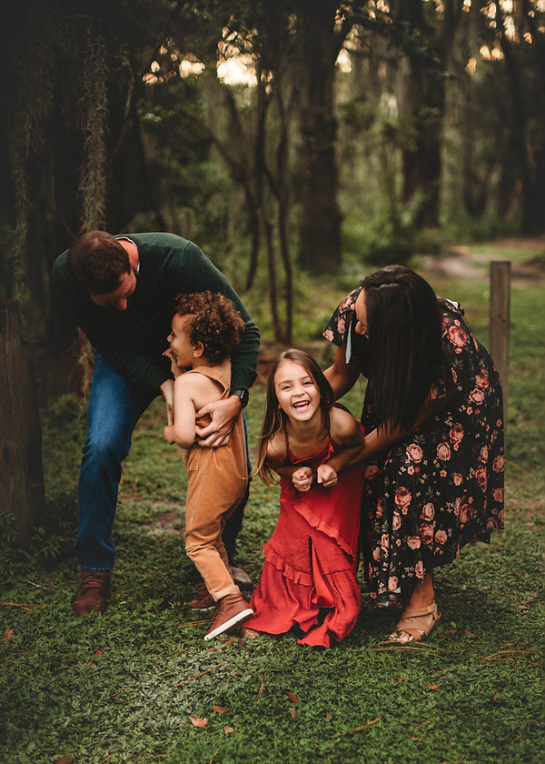 Tampa family photography for fall photos