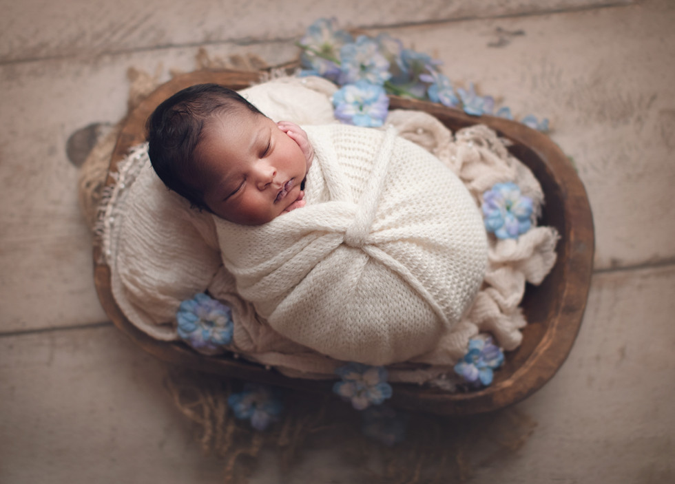 Newborn Photography Session for Baby Ryan