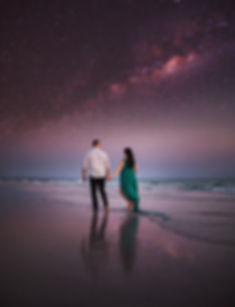 Materniy phoos taen on Siesta key each. Astrophotography for maternity