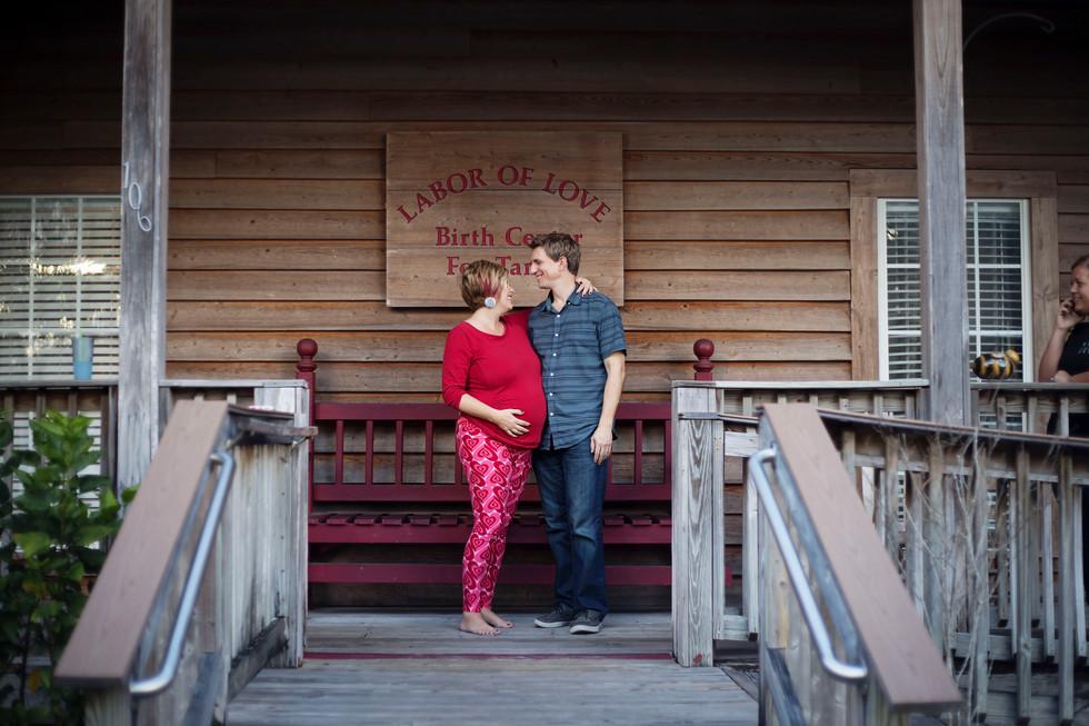 Charlotte's Birth Story-Labor Of Love Birthing center in Tampa Fl-Tampa Newborn Photographer