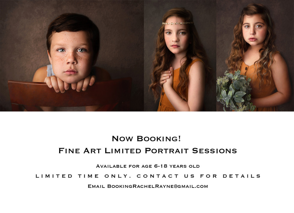 Limited Fine Art Portrait Sessions