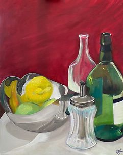 Beginners painting courses starting in September