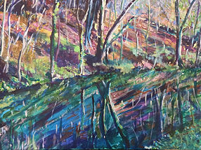 Woodland Painting by Naomi Selig, 'Painting & Drawing 4 All'.jpg