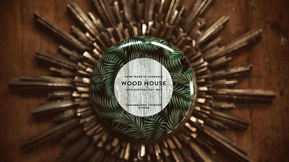 Woodhouse Soy Wax Candle