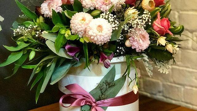 Floral Fancy Hatbox