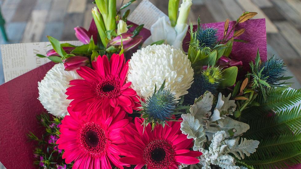 Large Seasonal Flowers