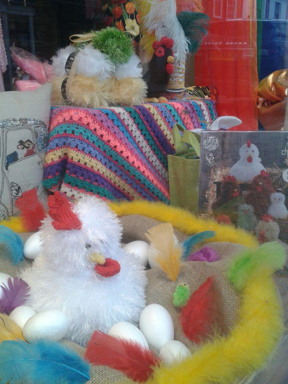 Knitted Chicken