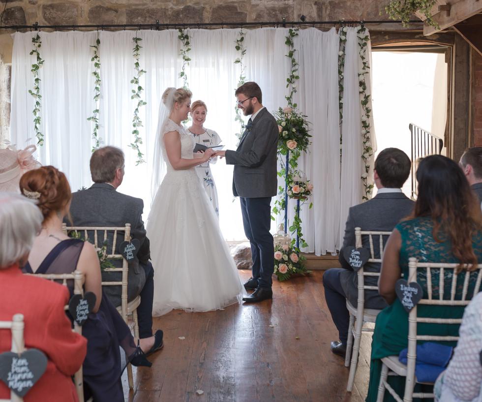 Barn Wedding Celebration Ceremony