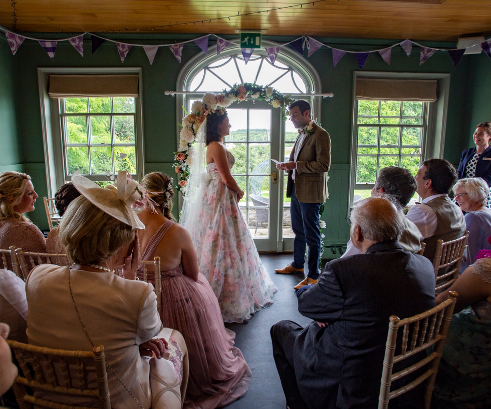Intimate wedding celebrations