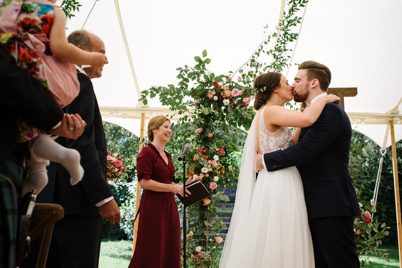 Boho Wedding Celebration Ceremony