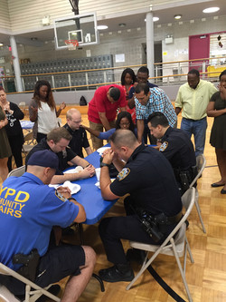 Local police get prayed for