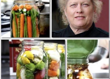 Quick Refrigerator Pickling with Chef Deb Dubbs
