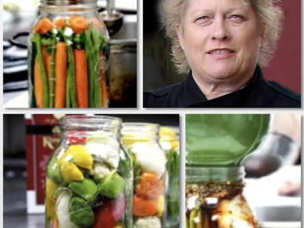 Quick Refrigerator Pickling with Chef Deb Dubbs