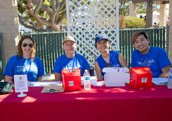 Make A Wish volunteers 2018