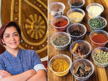 """""""Zoom Around the World"""" Cooking Class with Dame Shachi Mehra – Farewell 2020!"""