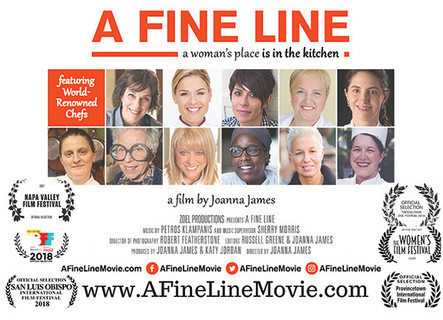 """A FINE LINE...a woman's place is in the kitchen"" Award-Winning Documentary Film Scree"