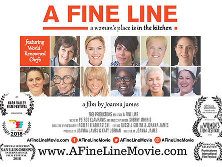 """""""A FINE LINE...a woman's place is in the kitchen"""" Award-Winning Documentary Film Scree"""