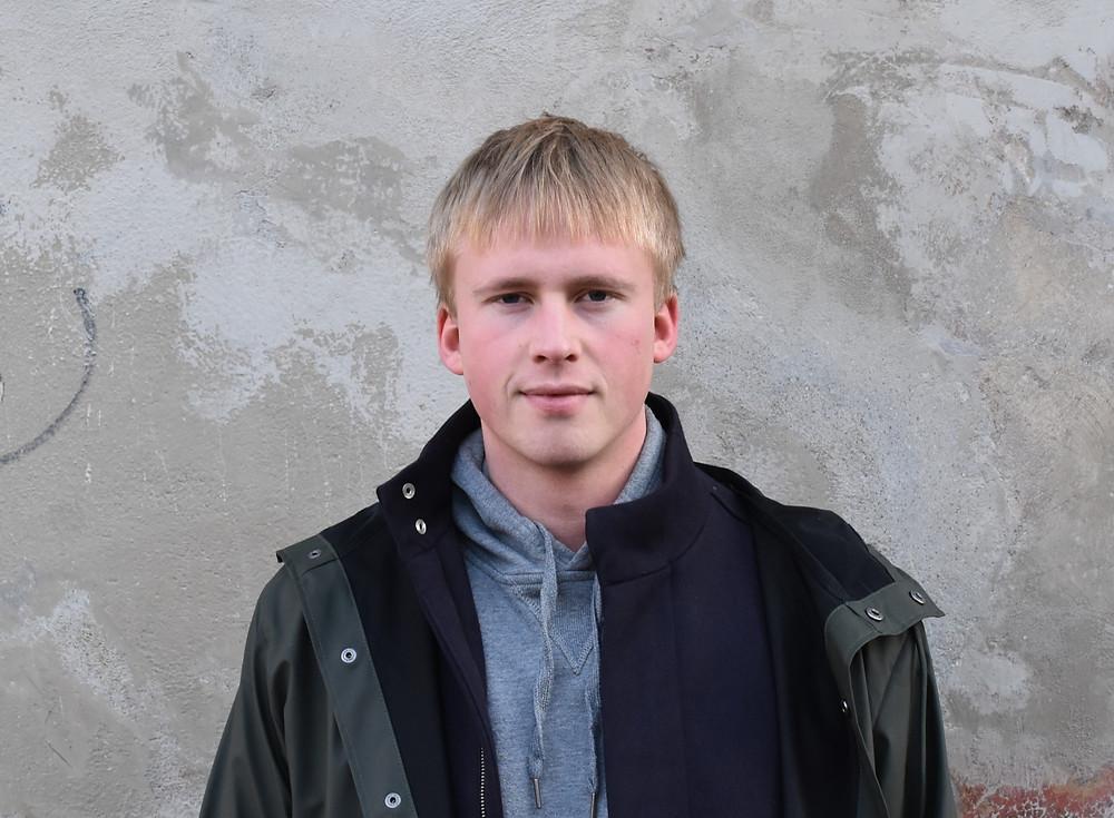 Redaksjonsmedlem Tarjei Ellingsen Røsvoll