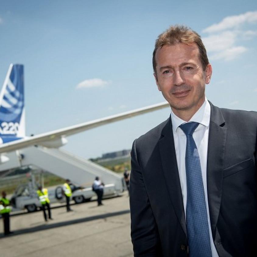 Airbus-CEO Guillaume Faury zu Gast beim LPC Hamburg