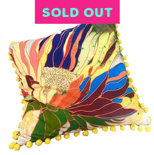 Hot Tropics Pillow - YELLOW