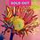 Thumbnail: Rainbow SUnFlower, yellow center, pink background