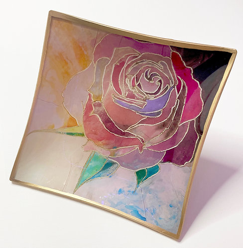 The Rose Trinket Tray