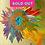 Thumbnail: Rainbow SUnFlower, AQUA center, GOLD LEAF background