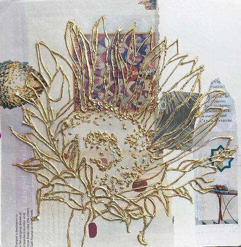 Saharan Sunflower Collage