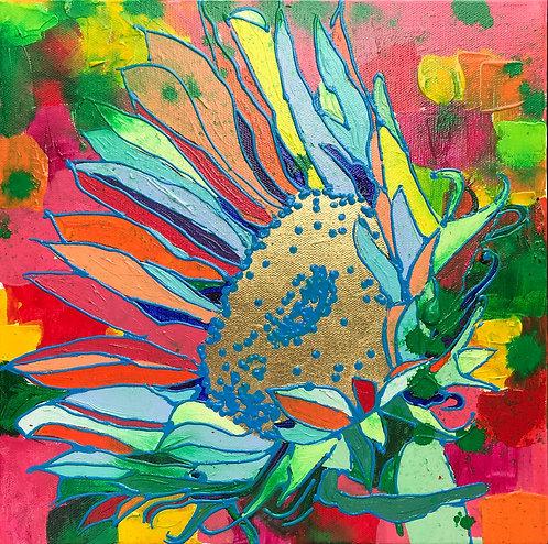 12X12 Sunflower on Dream Flowers