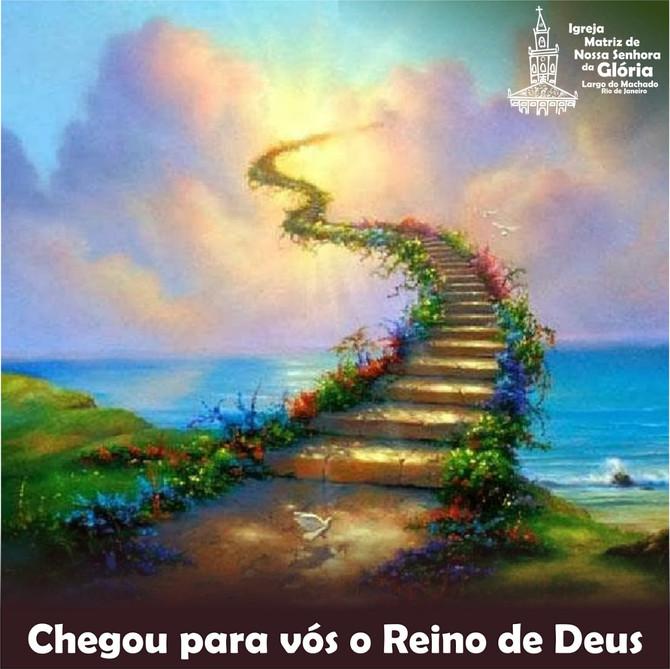 Chegou para vós o Reino de Deus.