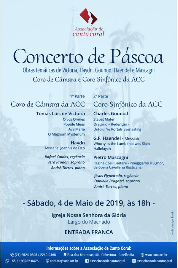 Concerto de Páscoa - 04/05/2019